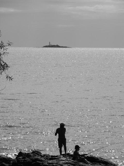 Uruguay Colonia pêcheur