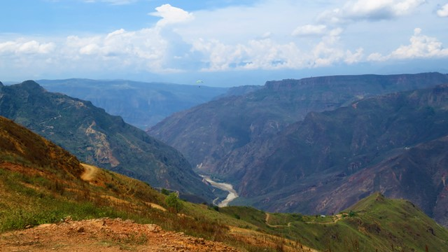 Colombie San Gil parapente chicamocha