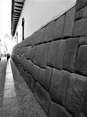 Pérou Cuzco ruelle inca
