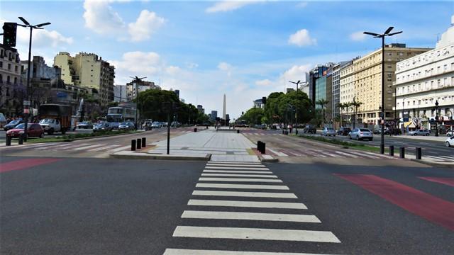 Argentine Buenos Aires Avenida 9 de Julio