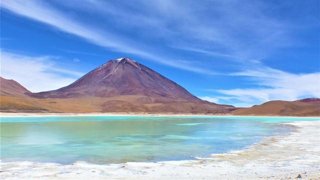 Bolivie Sud Lipez laguna verde