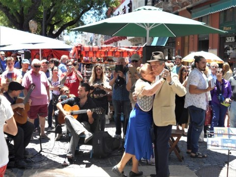 Argentine Buenos Aires San Telmo tango