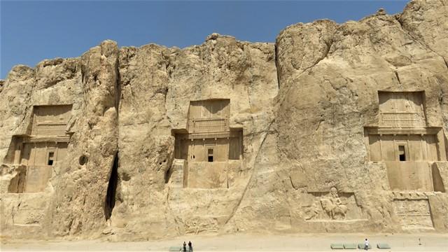 Iran Persépolis Nécropole Tombeaux