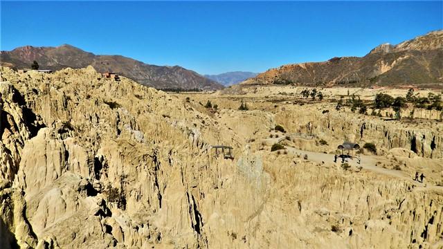 Bolivie La Paz Valle de la Luna