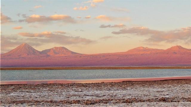 Chili san pedro de Atacama Laguna Tebenquiche