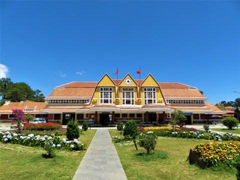 Vietnam Dalat Gare
