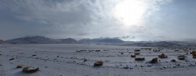 Bolivie Sud Lipez neige