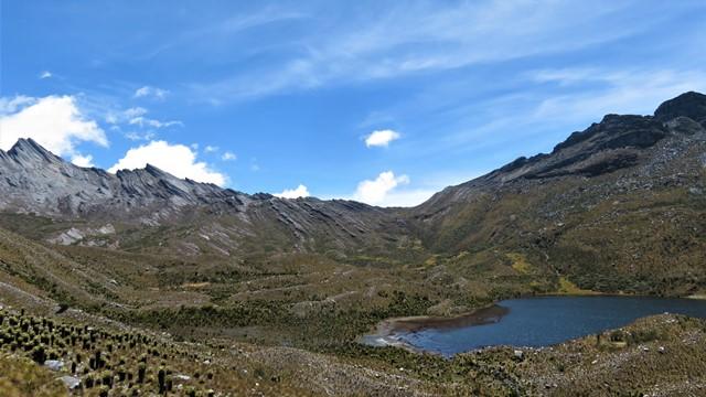 Colombie Sierra Nevada del Cocuy vallée lagunes