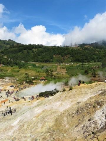 Java Plateau de Dieng cratère de Sikidang