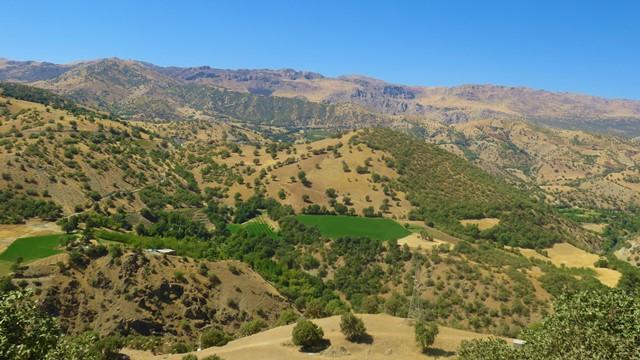 Iran Kurdistan vallée