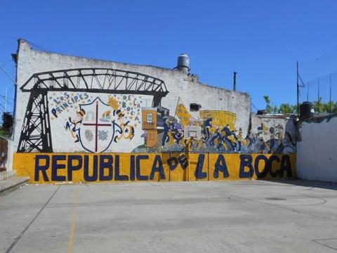 Argentine Buenos Aires Republica de la Boca