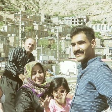 Iran Kurdistan famille