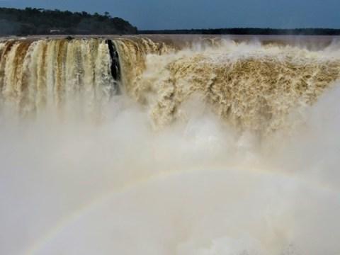 Argentine Chutes d'Iguazu Garganta del Diablo