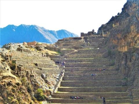 Pérou Vallée Sacrée des Incas forteresse Ollantaytambo