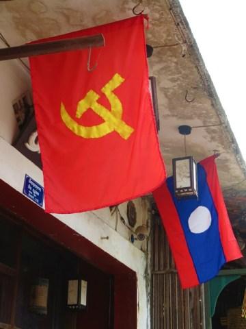 Laos Luang Prabang communiste