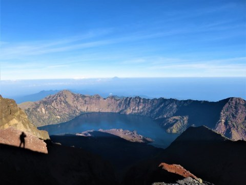Lombok rinjani cratère