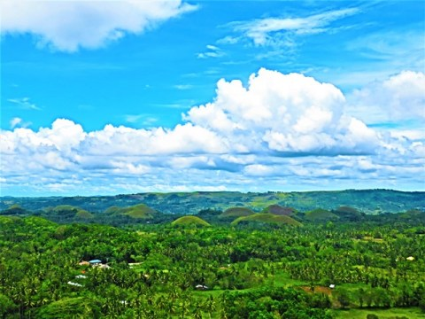 Philippines Bohol chocolate hills