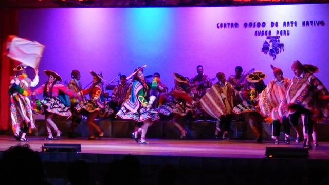 Pérou Cuzco spectacle centre Qosqo d'art natif