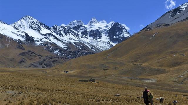 Bolivie Trek Laguna Chiar Khota