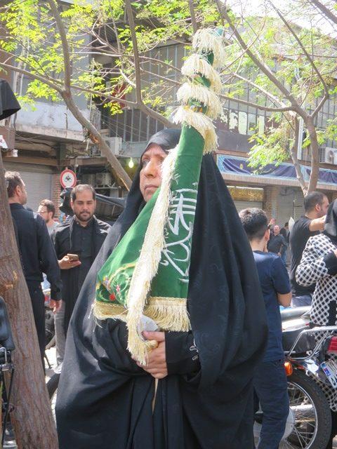 Iran Téhéran Achoura tchador
