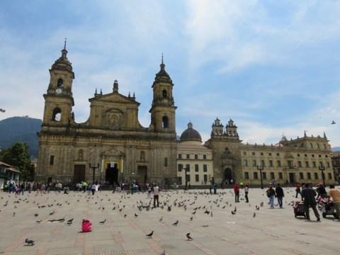 Colombie Bogota Plaza Bolivar