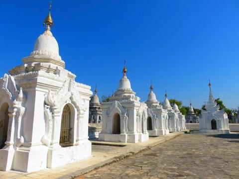 Myanmar Mandalay pagode Kuthodaw