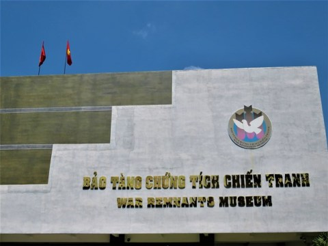 Vietnam Ho-Chi-Minh ville musée des Vestiges de la Guerre