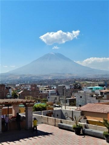 Pérou Arequipa volcan Misti