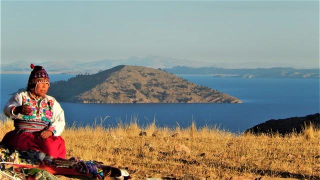 Pérou Lac Titicaca Amantani