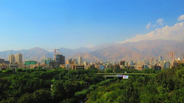Iran Téhéran montagnes alborz