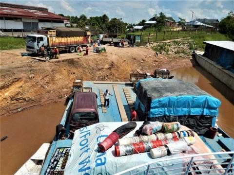 Pérou Yurimaguas trajet Iquitos