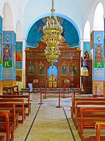 Jordanie madaba église