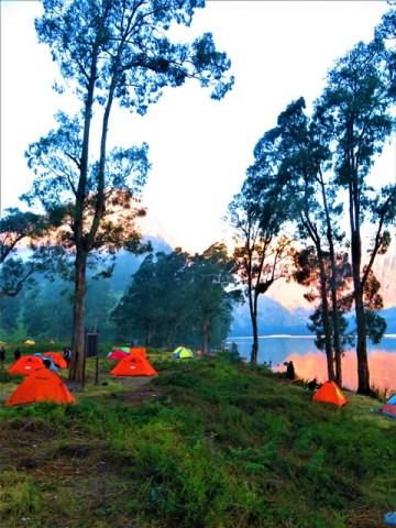 Lombok rinjani campement