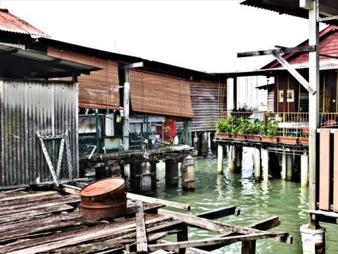 Malaisie George Town jetées