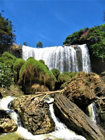 Vietnam Dalat chutes d'eau de l'éléphant