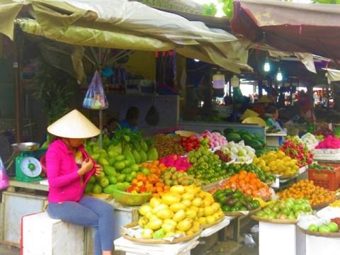 Vietnam Hoi An marché