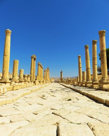 Jordanie Jerash cardo maximum