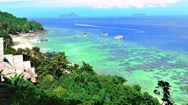 Thaïlande Koh Phi Phi crique de Phak Nam