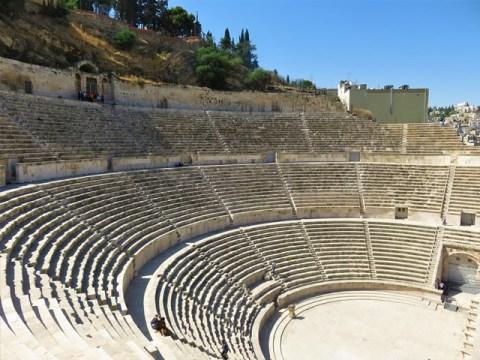 Jordanie Amman amphithéâtre