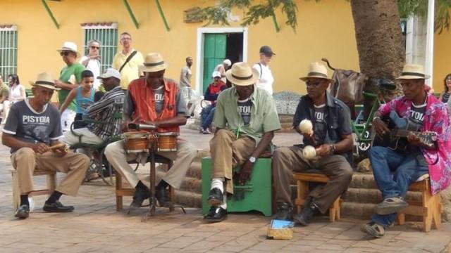 Cuba Trinidad musiciens