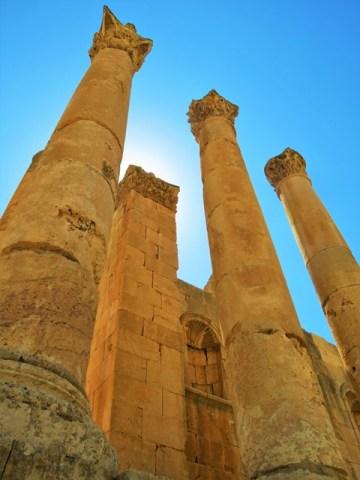 Jordanie Jerash temple
