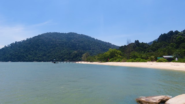 Malaisie Parc national Penang plage