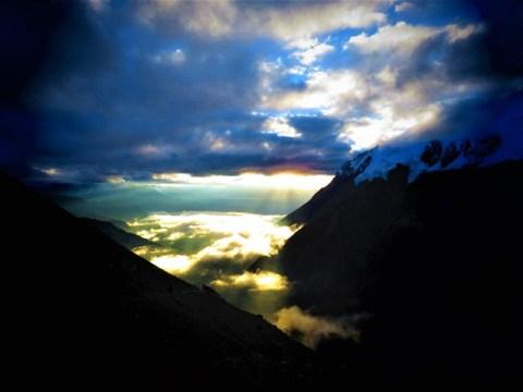 Népal Trek Circuit des Annapurnas Tilicho Lake