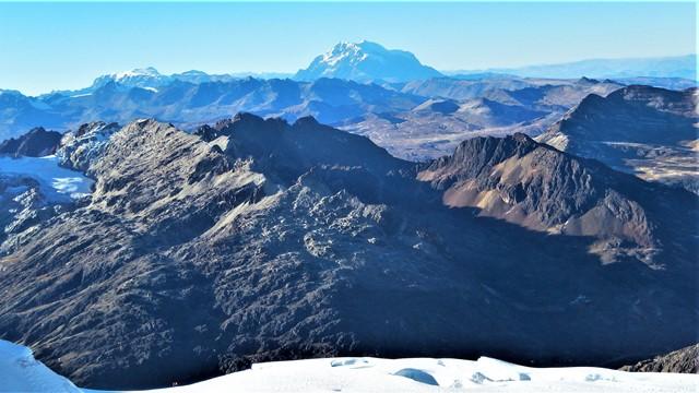 Bolivie Ascension Huayna Potosi Illimani