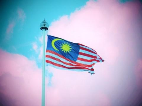 Malaisie Kuala Lumpur drapeau