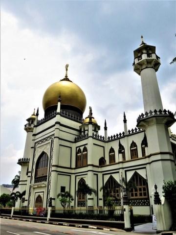 Singapour mosquée
