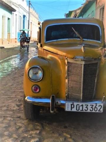 Cuba Trinidad voiture