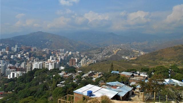 Colombie Cali Cerro de las Tres Cruces