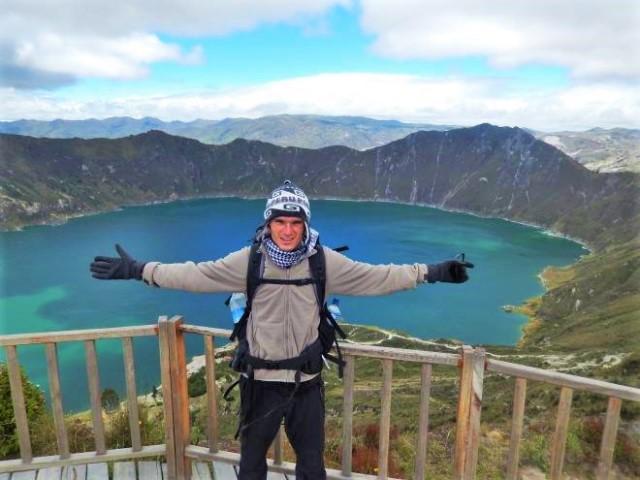 Equateur Trek Lagune de Quilotoa