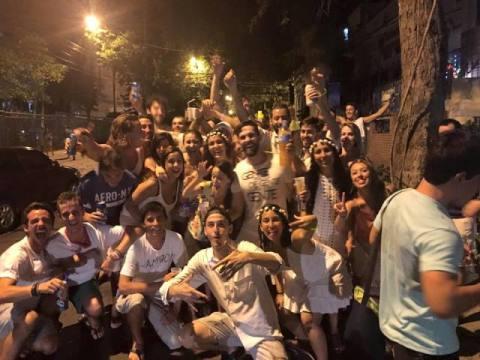 Brésil Rio de Janeiro soirée nouvel an